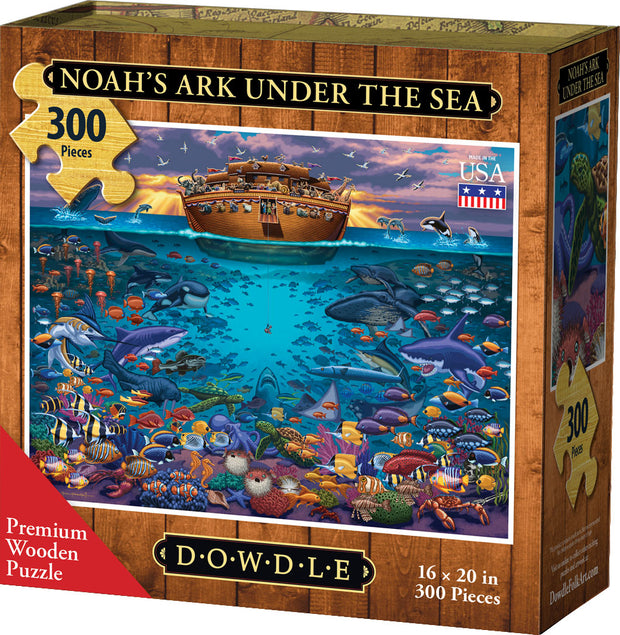 Noah's Ark Under the Sea - Wooden Puzzle
