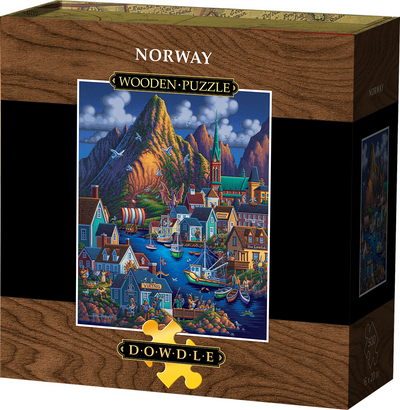 Norway Wooden Puzzle