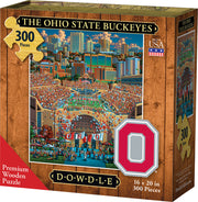 The Ohio State Buckeyes - Wooden Puzzle