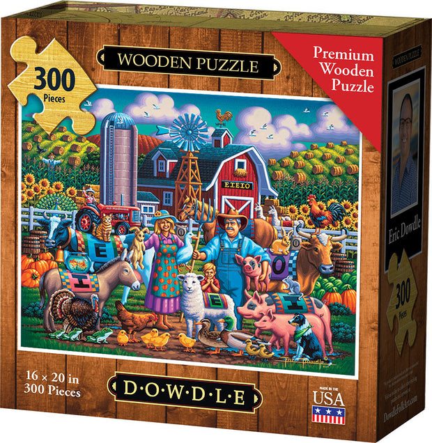 Old MacDonald - Wooden Puzzle