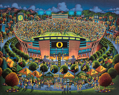 University of Oregon Ducks - Stratascape