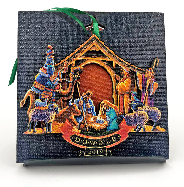 2019 Dowdle Collectable Christmas Ornament