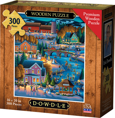 Over the River Wooden Puzzle