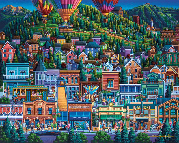 Park City Summer - Fine Art