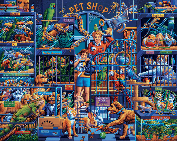 Pet Shop - Fine Art