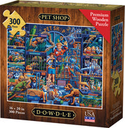 Pet Shop - Dowdle Wooden Puzzle