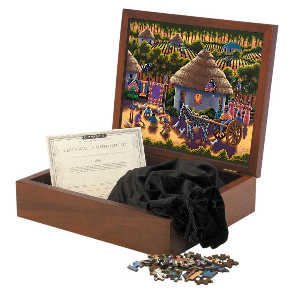 Play Time Wooden Puzzle