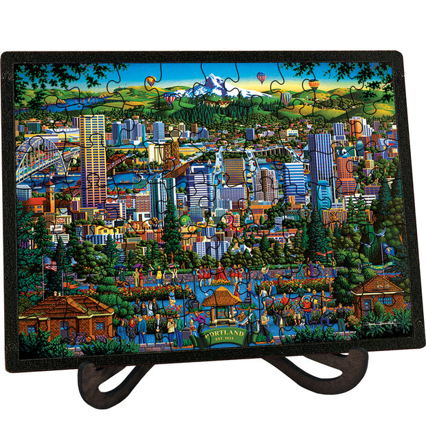 Portland City of Roses - Picture Perfect Puzzle™