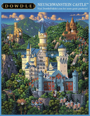 Neuschwanstein Castle - 1000 Piece