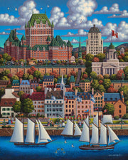 Quebec City - Dowdle Wooden Puzzle