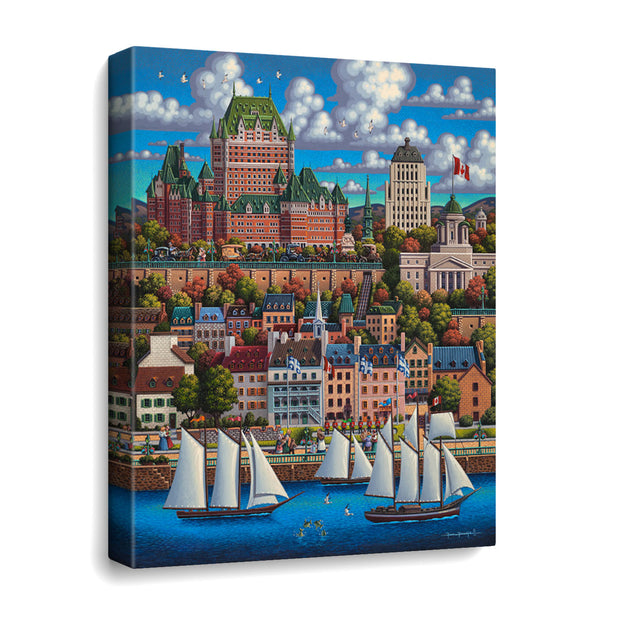 Quebec City - Travel Puzzle
