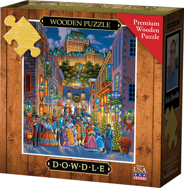 Québec Holiday - Wooden Puzzle