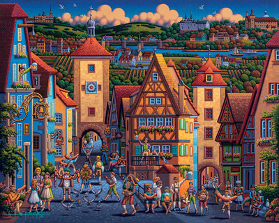 Rothenburg ob der Tauber - Fine Art