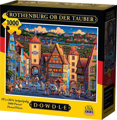 Rothenburg ob der Tauber - 1000 Piece