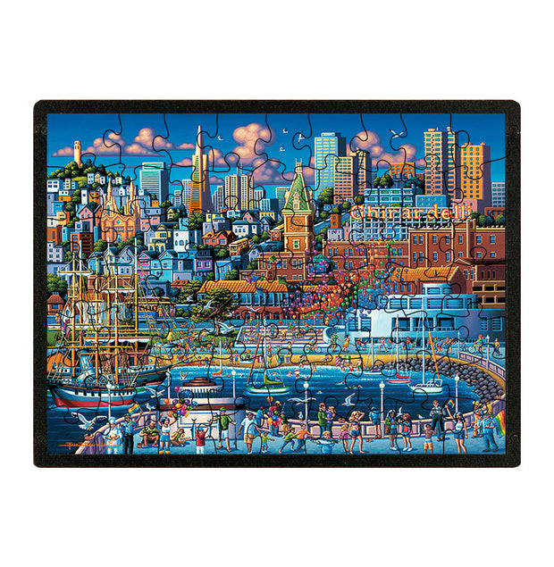 San Francisco Pier - Travel Puzzle