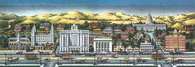 Salt Lake City, 1920 - Fine Art