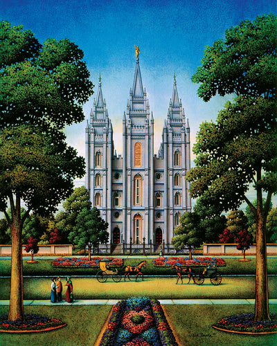 Salt Lake Temple - Fine Art