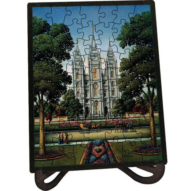 Salt Lake Temple Picture Perfect Puzzle™