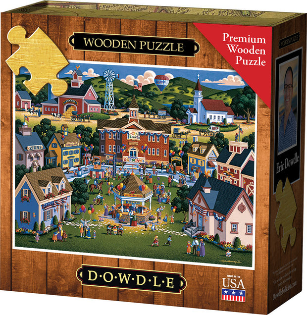 School Carnival - Wooden Puzzle