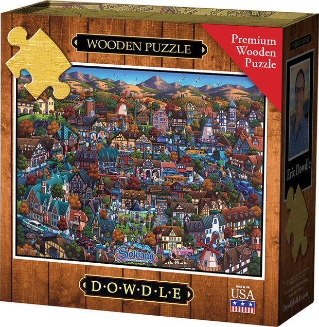 Solvang Danish Village - Wooden Puzzle