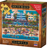 South Beach - Dowdle Wooden Puzzle
