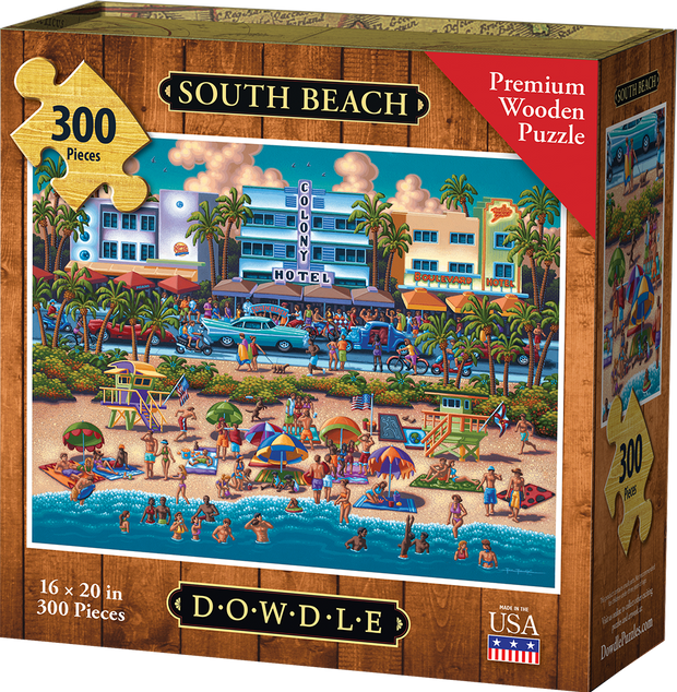 South Beach Wooden Puzzle