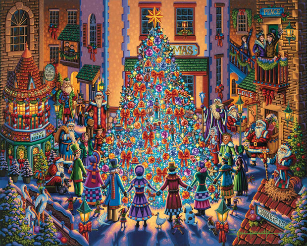 Spirit of Christmas - Fine Art