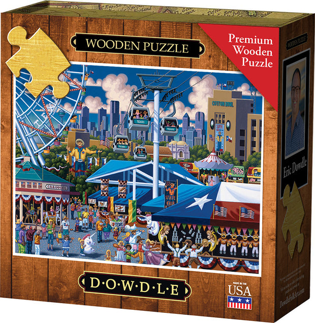 State Fair - Wooden Puzzle