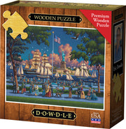 Statue of Liberty - Wooden Puzzle