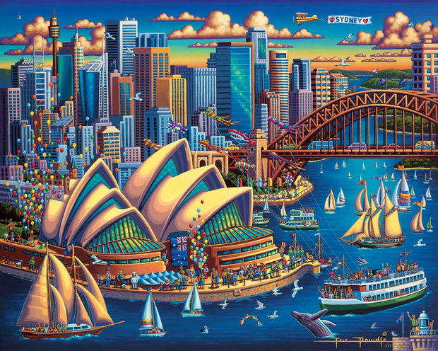 Sydney Opera House - Dowdle Wooden Puzzle
