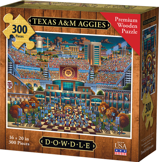 Texas A&M Aggies - Dowdle Wooden Puzzle
