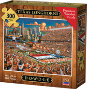 Texas Longhorns - Wooden Puzzle