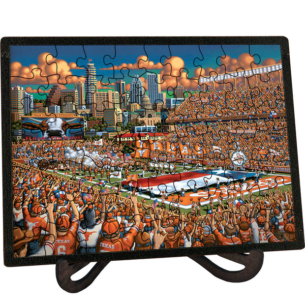 Texas Longhorns - Picture Perfect Puzzle™