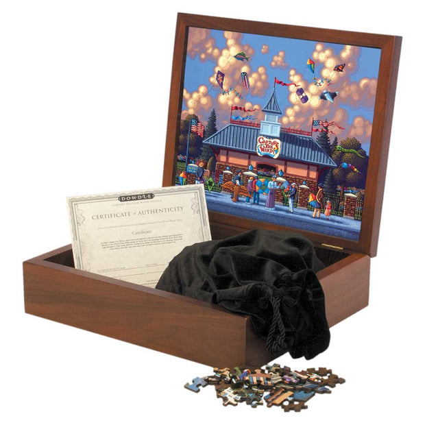 Thanksgiving Point Kites Wooden Puzzle