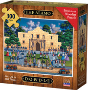 The Alamo - Dowdle Wooden Puzzle