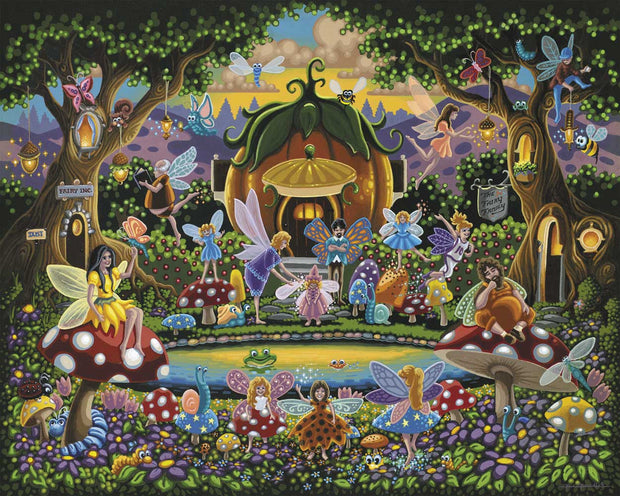 The Fairy Family - Fine Art