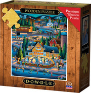 Through the Woods - Wooden Puzzle