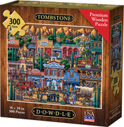 Tombstone - Wooden Puzzle