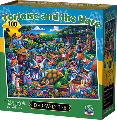Tortoise and the Hare - 100 Piece