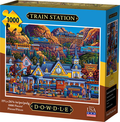 Train Station - 1000 Piece