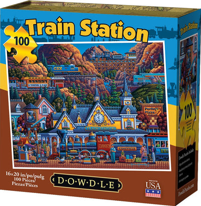 Train Station - 100 Piece