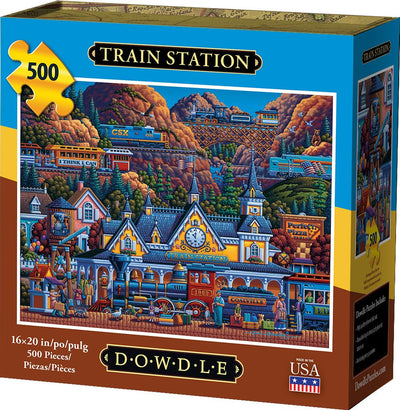 Train Station - 500 Piece