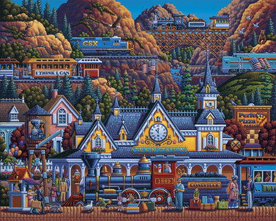 Train Station Fine Art