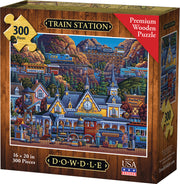 Train Station - Dowdle Wooden Puzzle
