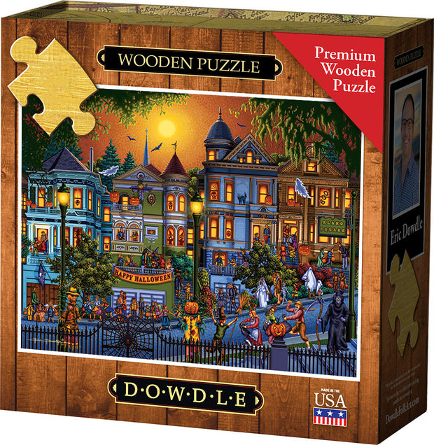 Trick or Treat Wooden Puzzle