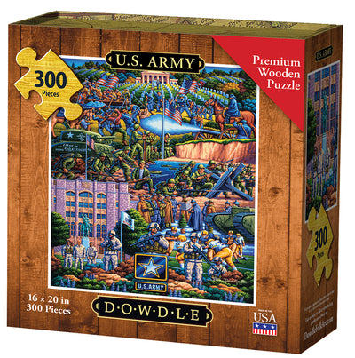 U.S. Army - Wooden Puzzle
