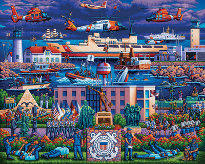 U.S. Coast Guard - Fine Art