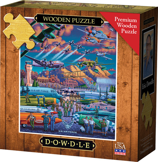 U.S. Air Force Wooden Puzzle