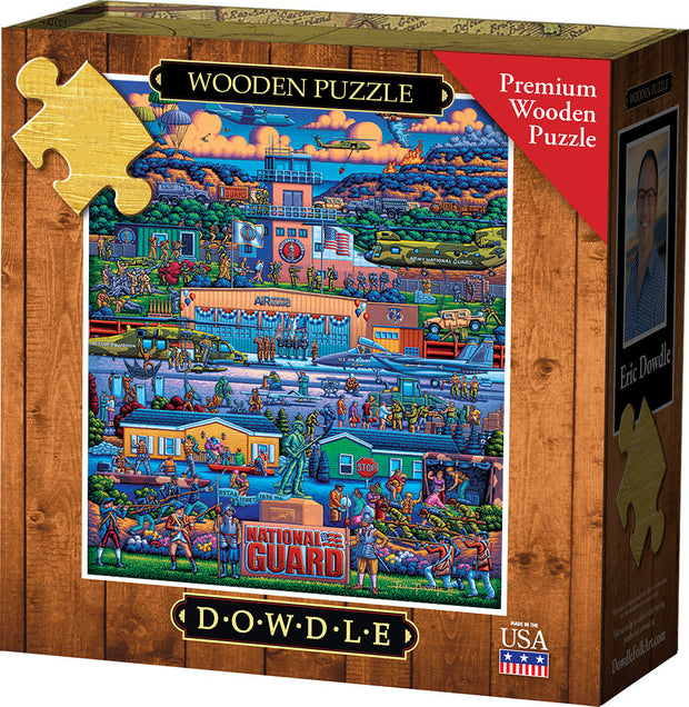 U.S. National Guard - Wooden Puzzle