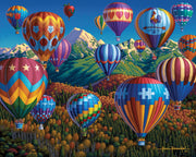 Up, Up and Away - Fine Art